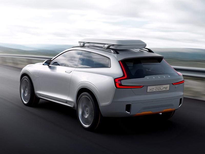 Volvo XC Coupe concept 2014 вид сзади