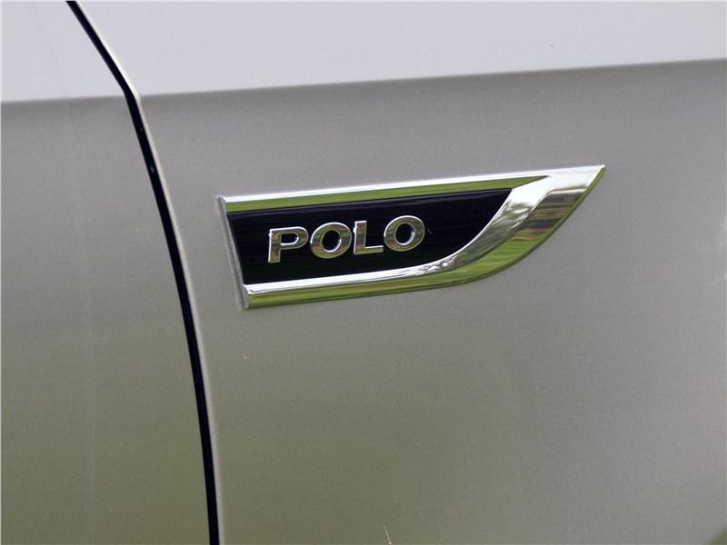 Volkswagen Polo Sedan 2016 шильдик