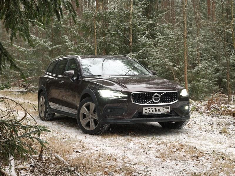 Volvo V60 Cross Country 2019 вид спереди