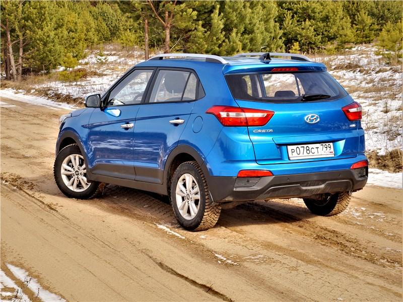 Hyundai Creta 2016 вид сбоку