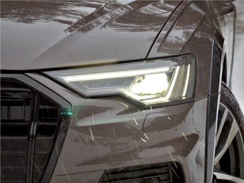 Audi A6 allroad quattro (2020) передняя фара