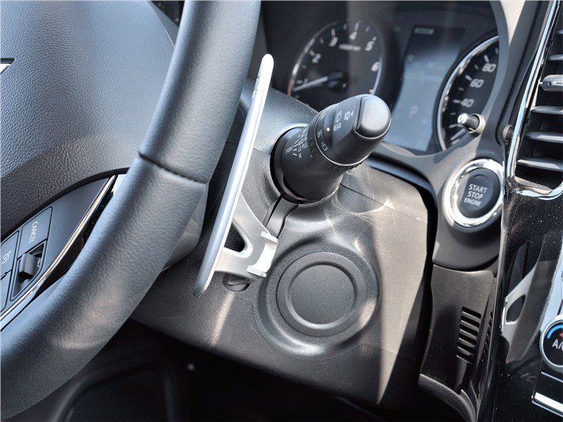 Mitsubishi Outlander (2021) подрулевые лепестки