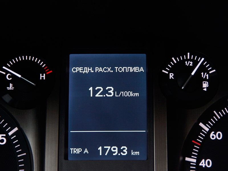 Lexus GX 460 2014 приборная панель фото 2