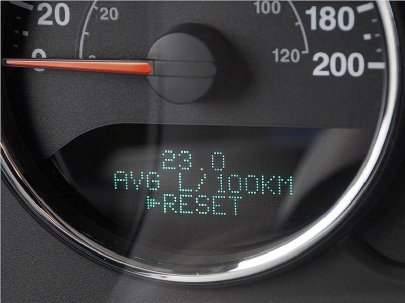 Jeep Wrangler 2007 приборная панель
