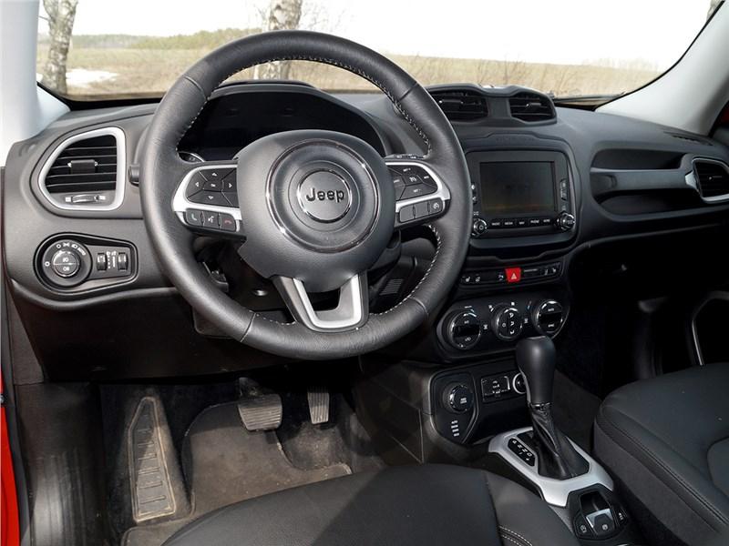 Jeep Renegade 2014 салон
