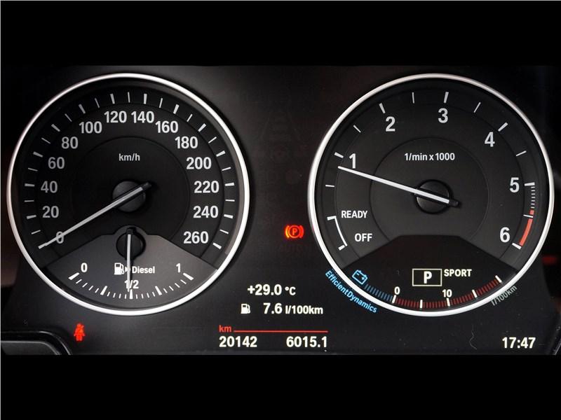 BMW X1 2016 приборная панель
