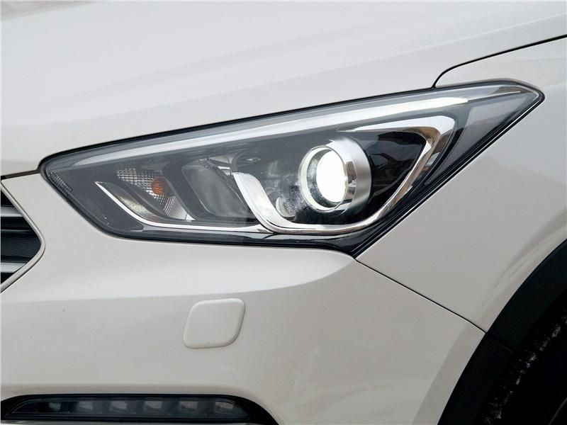 Hyundai Santa Fe 2015 передняя фара
