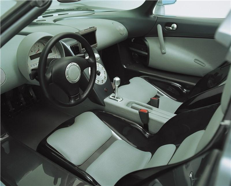 Koenigsegg CC 1998 место водителя