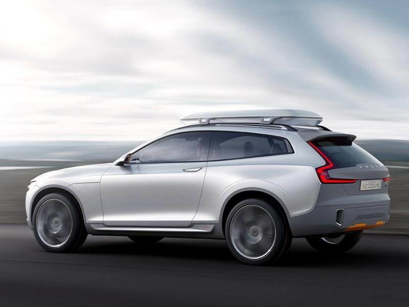 Volvo XC Coupe concept 2014 вид сбоку фото 2