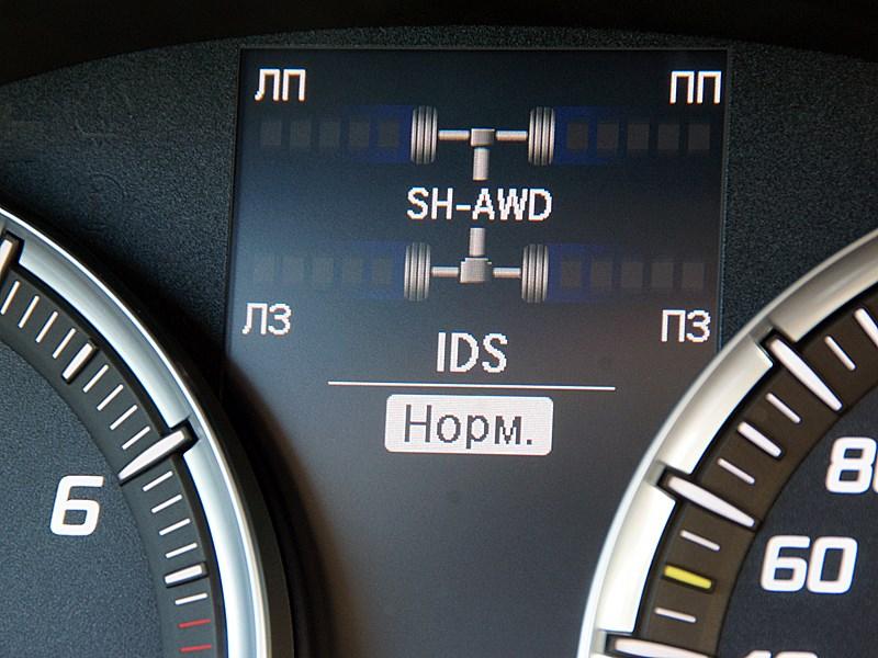 Acura MDX 2014 приборная панель