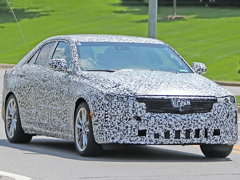 У Cadillac появится маленький седан Фото Авто Коломна