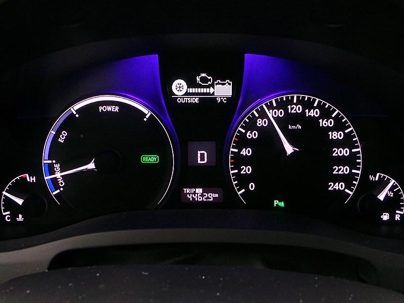Lexus RX 450h F-Sport 2014 приборная панель