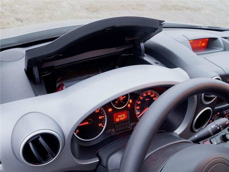 Citroen Berlingo 2012 дополнительный бардачок