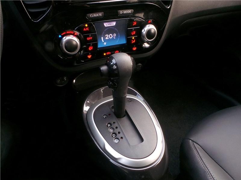 Nissan Juke 2015 вариатор
