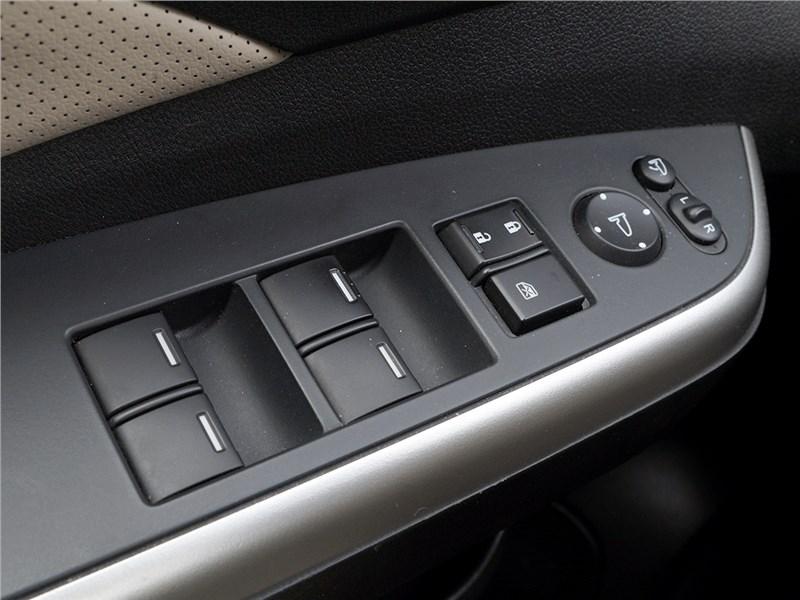 Honda CR-V 2015 клавиши управления