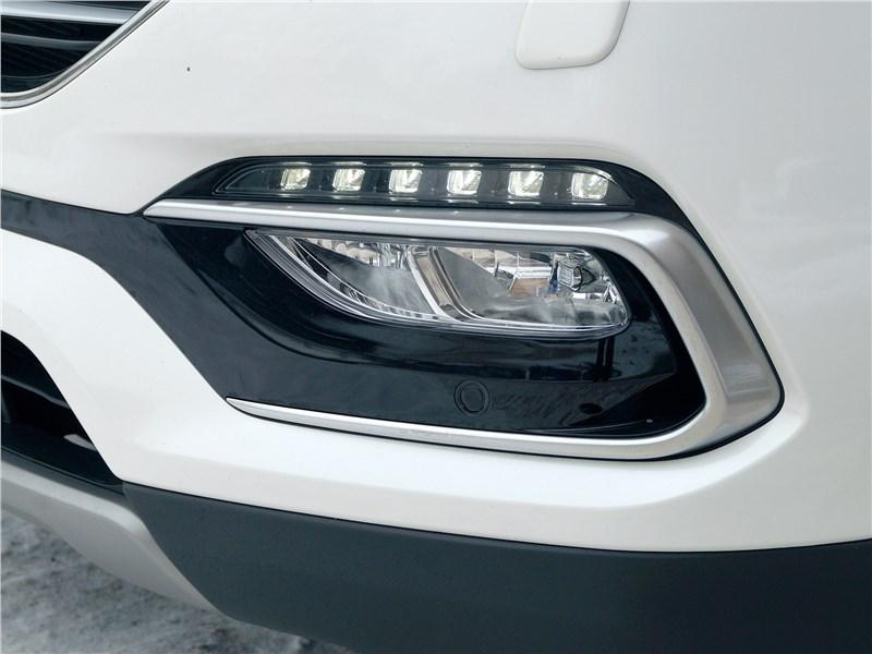 Hyundai Santa Fe 2015 «противотуманка»