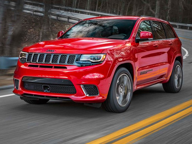 Jeep представил самый экстремальный Grand Cherokee