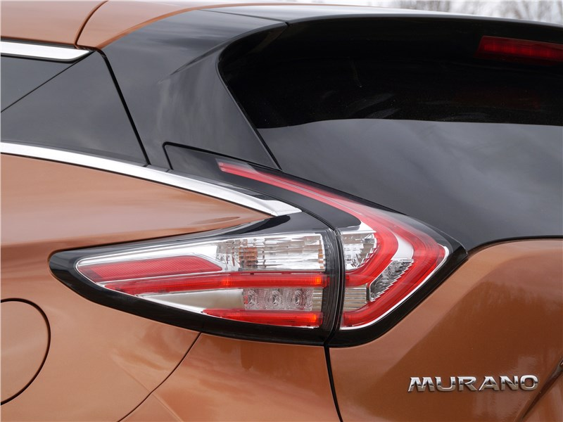 Nissan Murano 2016 задний фонарь