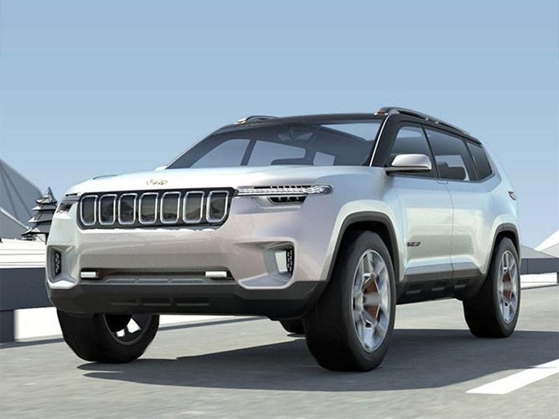 Jeep представил большой кроссовер для Китая