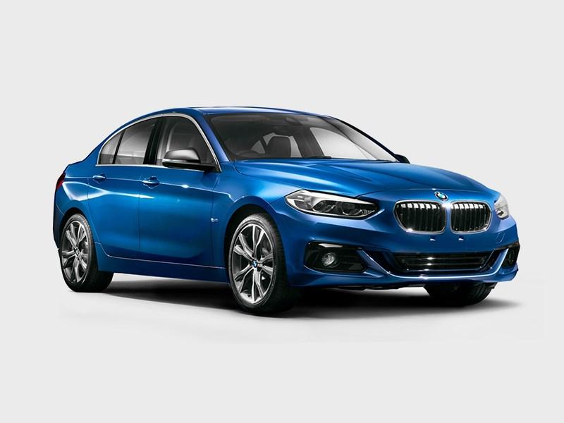 BMW может привезти седан 1-й серии в Россию