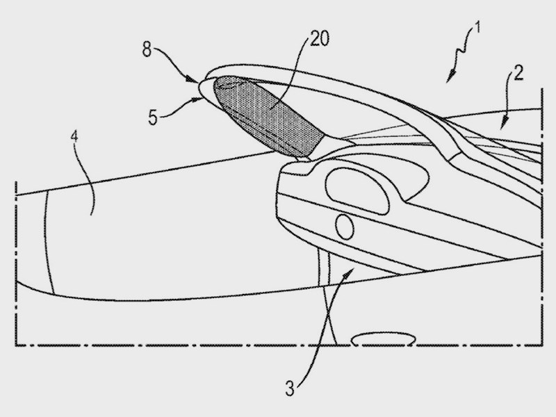 Porsche запатентовала новую подушку безопасности
