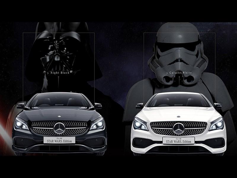 Mercedes-Benz сделал спецверсию CLA для поклонников «Звездных войн»