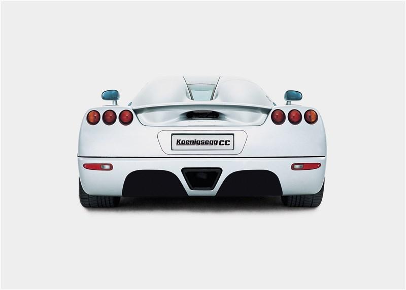 Koenigsegg CC 1998 вид сзади