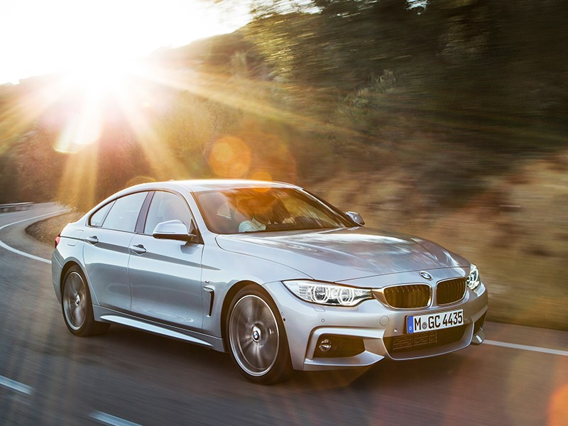 BMW 4 Series Gran Coupe 2014 вид сбоку фото 4