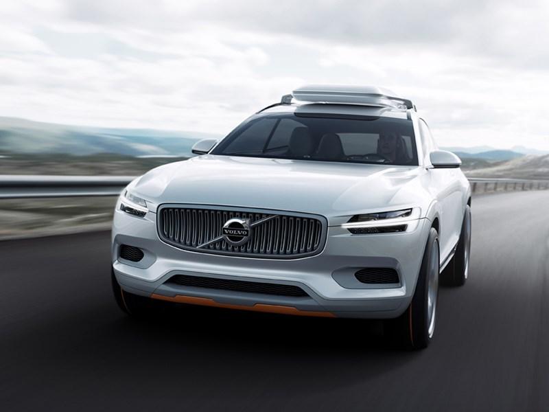 Volvo XC Coupe concept 2014 вид спереди фото 2
