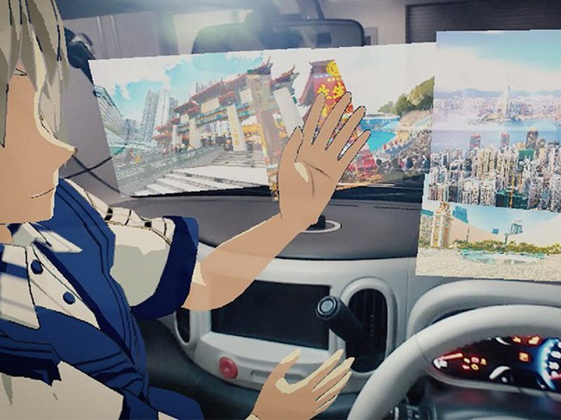 Nissan играет в гляделки Фото Авто Коломна