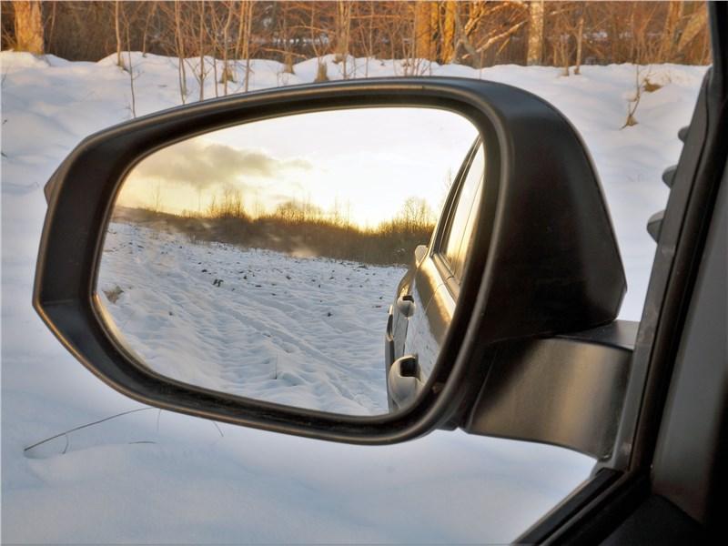 Toyota Hilux (2021) боковое зеркало