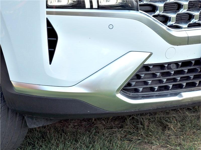Hyundai Santa Fe (2021) передний бампер