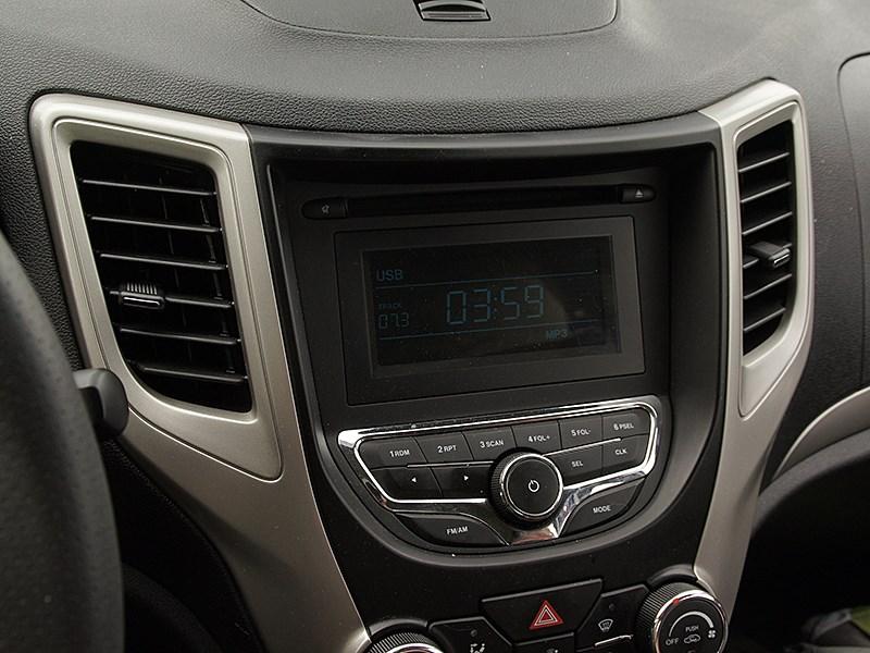 Changan CS35 2014 дисплей аудиосистемы