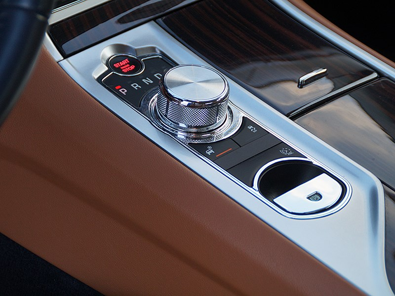 Jaguar XF 2011 шайба селектора «автомата»