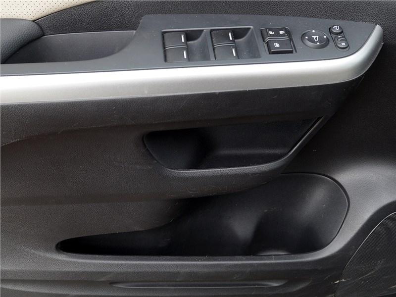Honda CR-V 2015 карманы передних дверей