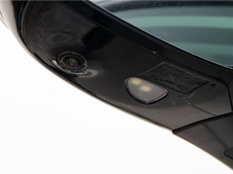 Hyundai Santa Fe 2015 видеокамера