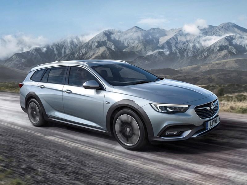 Opel Insignia стала вседорожной