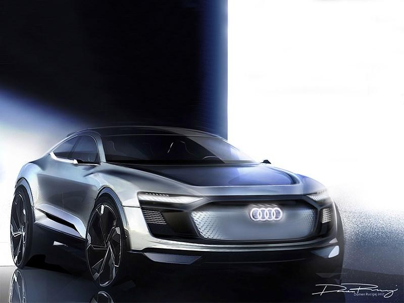 Audi привезет в Шанхай электрическое купе-кроссовер