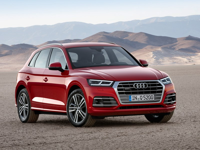 Audi привезла новый Q5 в Россию