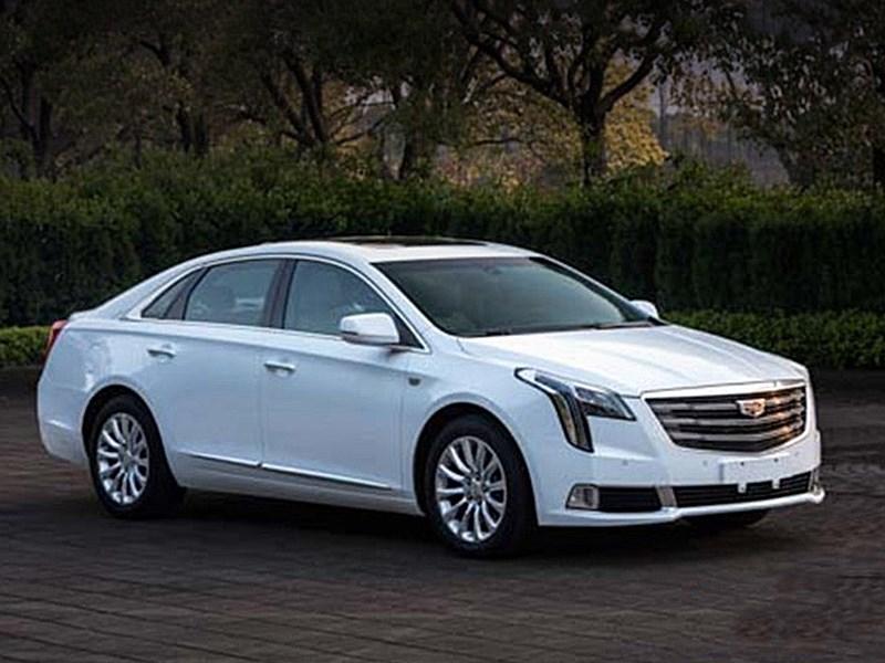 Рассекречен новый седан Cadillac