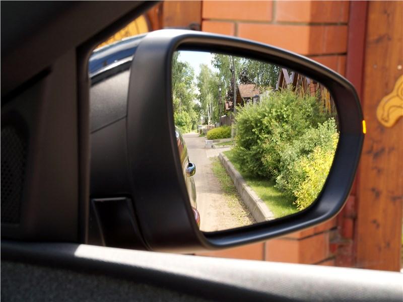 Peugeot 3008 2017 боковое зеркало