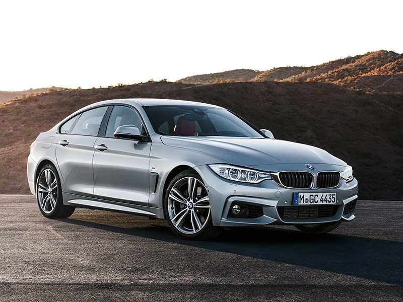 BMW 4 Series Gran Coupe 2014 вид спереди фото 2