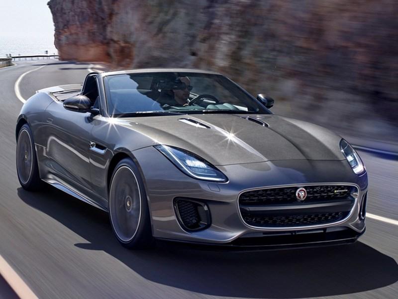 У Jaguar F-Type появилась новая версия