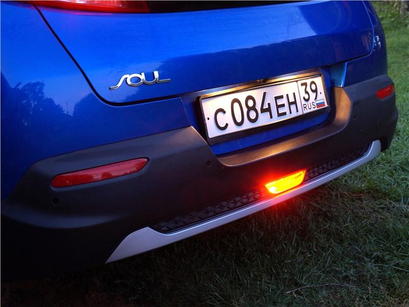 Kia Soul 2020 противотуманный фонарь