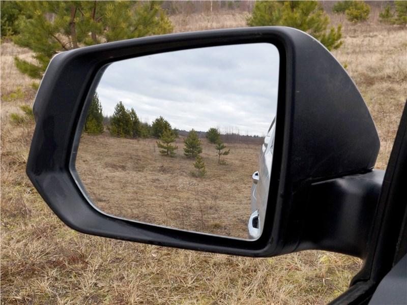 Jac T6 2019 боковое зеркало