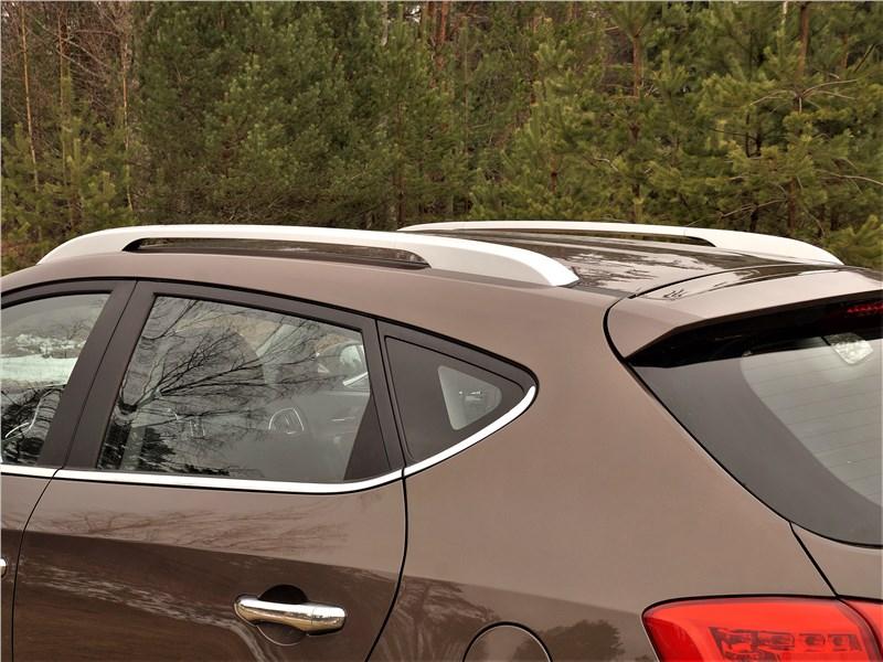 JAC S5 2014 рейлинги на крыше