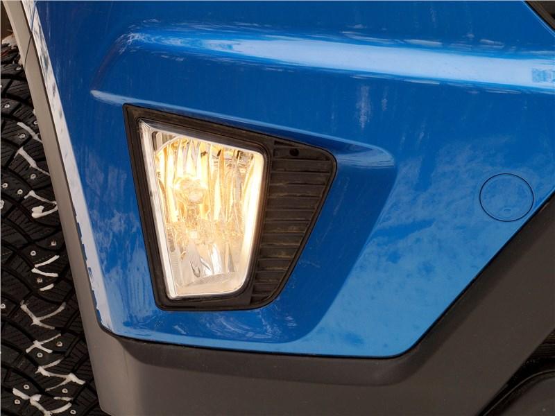 Hyundai Creta 2016 противотуманная фара