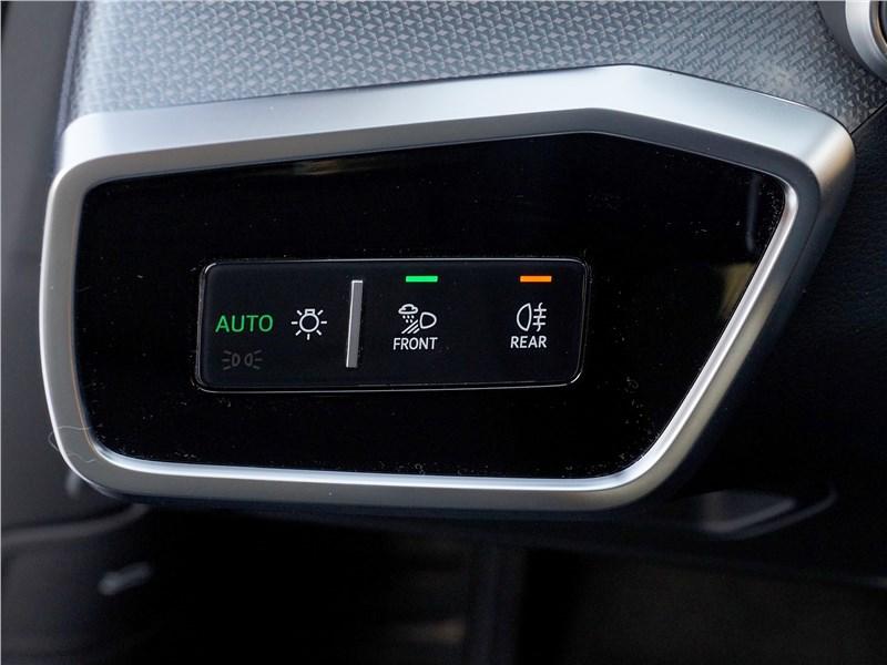 Audi A6 allroad quattro (2020) панель управления