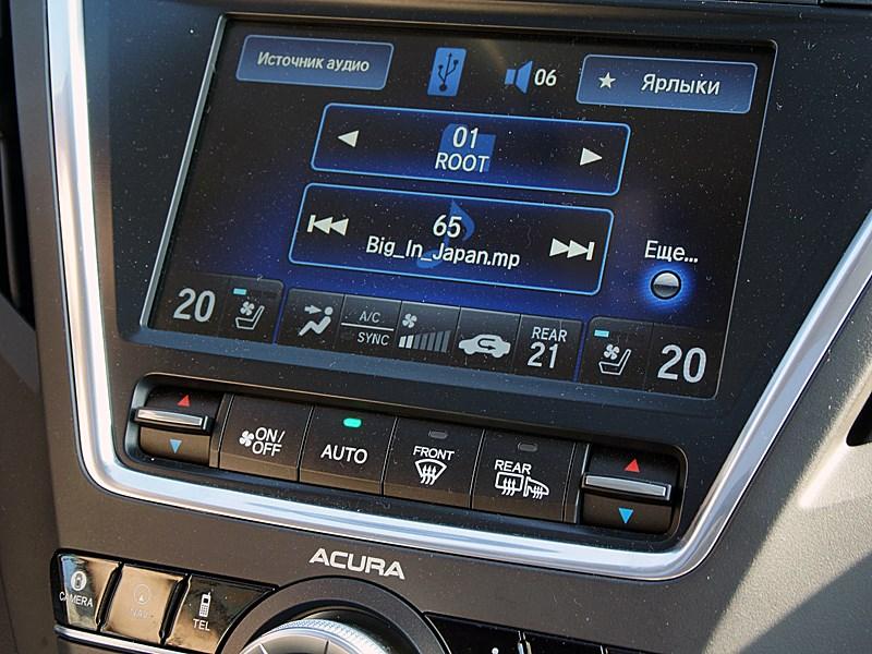 Acura MDX 2014 центральная консоль
