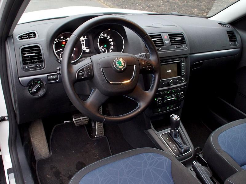 Skoda Yeti 2013 водительское место